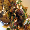 Healdsburg California, Willi's Seafood, Grilled Chicken with Pine Nuts, Quinoa