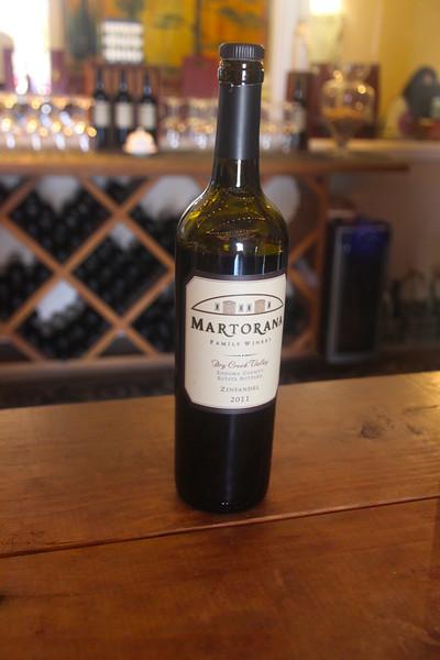 Martorana Family Winery, Zinfandel