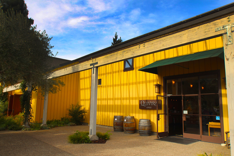 Quivira Vineyards, Winetasting Pavilion
