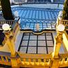 Hearst Castle,  Neptune Pool, vertical