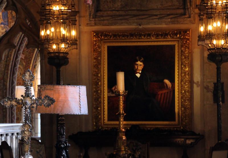 Hearst Castle, Portrait of William Randolph Hearst