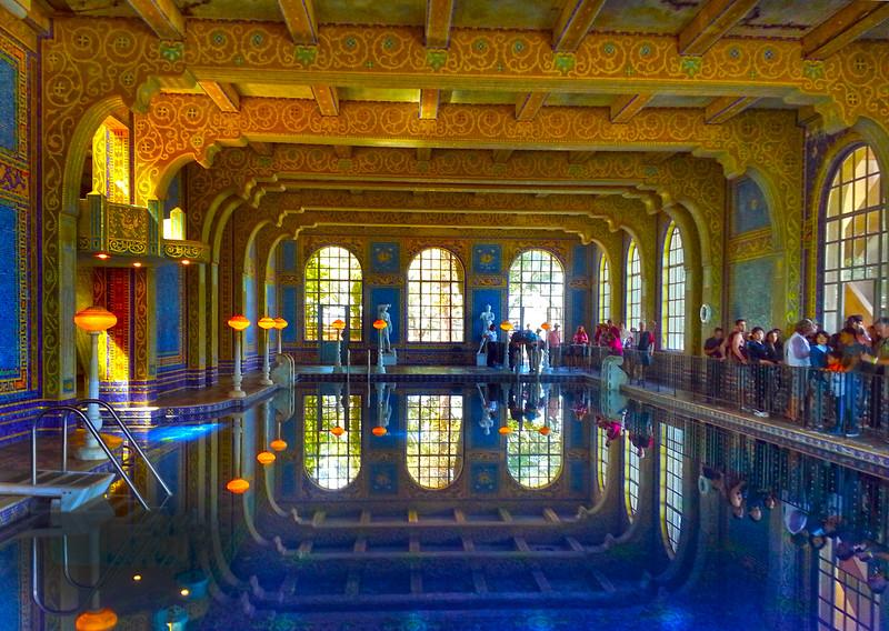Hearst Castle, Roman Pool