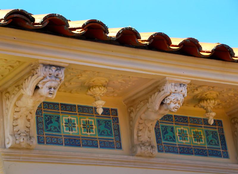Hearst Castle, Architectural Details, Casa del Mar