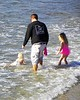 Fatherhood at the shore