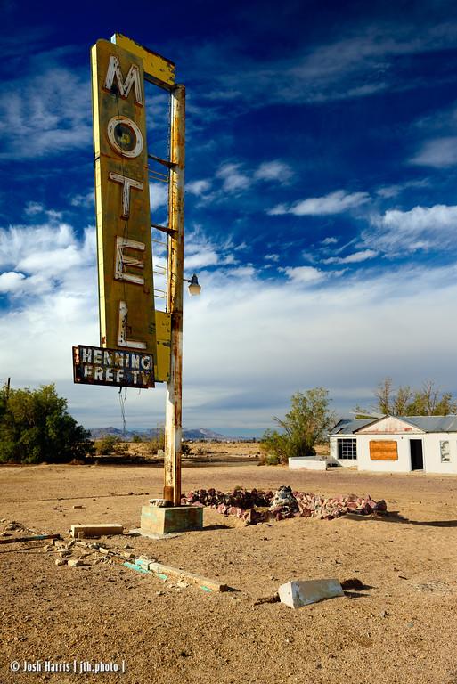 Newberry Springs, California, Mojave Desert, November 2013.