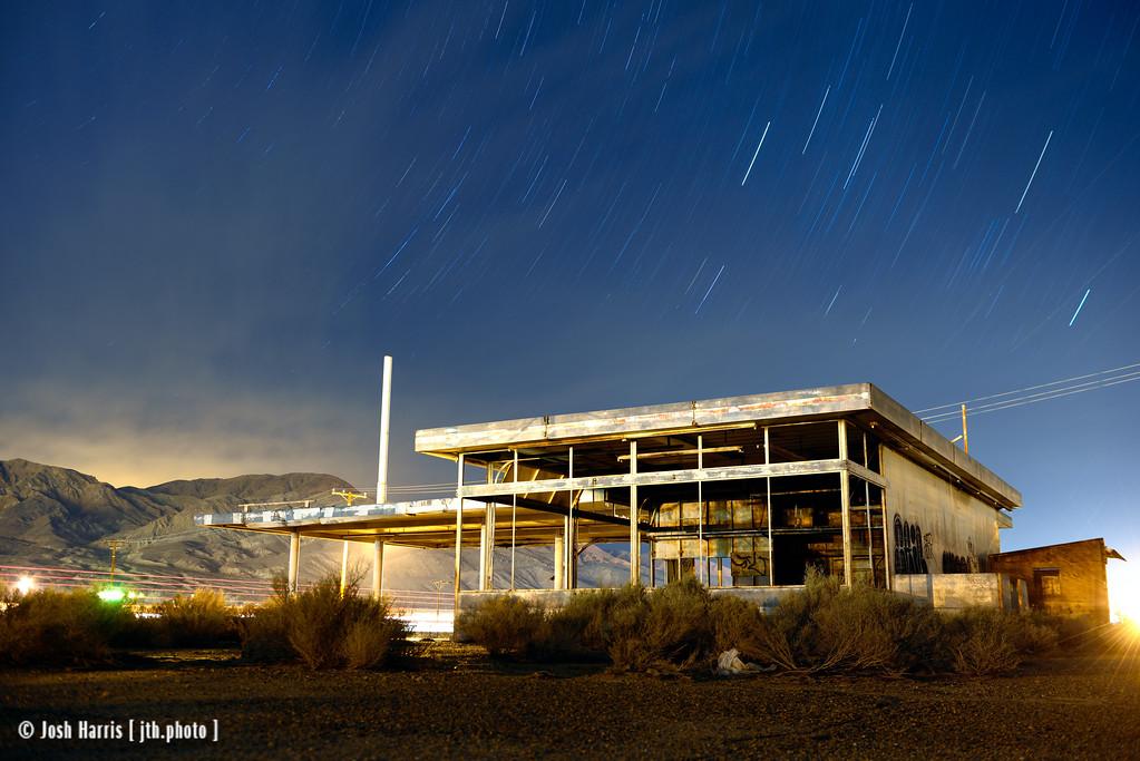Yermo, California, Mojave Desert, November 2013.