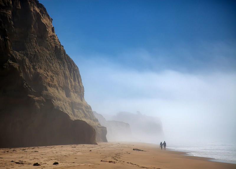 Beach at San Gregorio