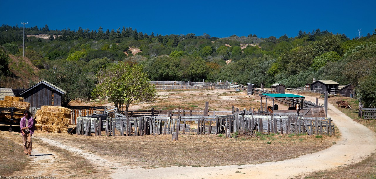 Wilder Ranch. The Stables