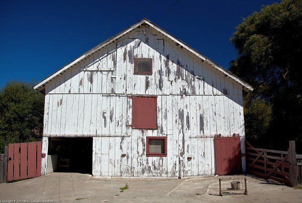 Cow Barn at Wilder Ranch