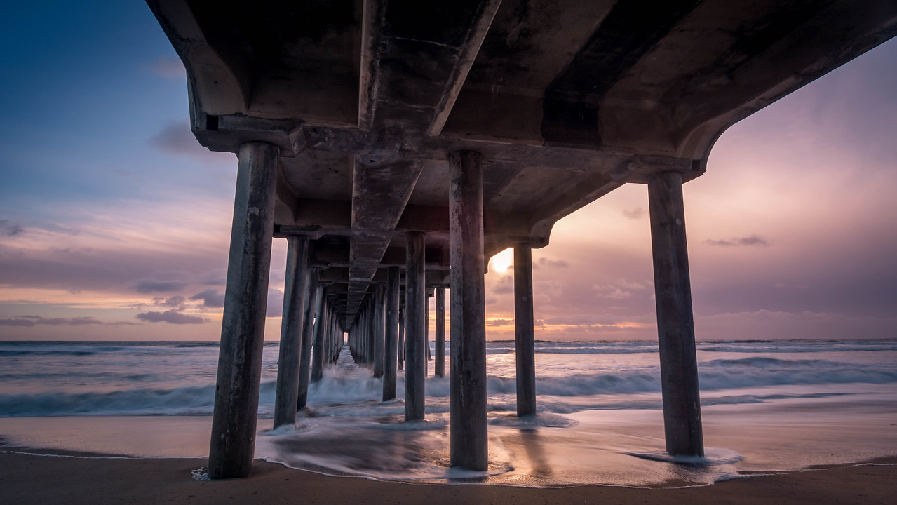Tip Toes in the Sand - Huntington Beach, CA, USA
