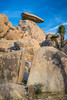 Jumbo rocks in Joshua Tree National Park, California, USA.