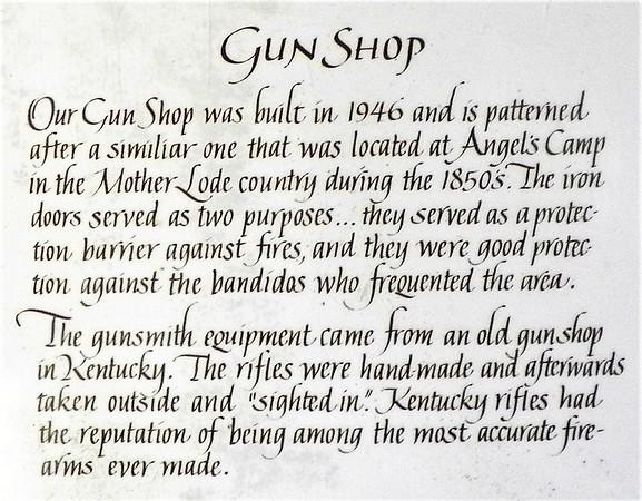 Gun Shop history