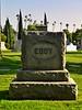 The Eddy Family headstone