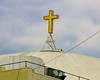 The lighted cross is a looong-time L.A. landmark