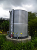 1,650-gallon rainwater storage