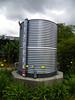1,650-gallon rainwater storage