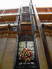 Elevator shaft front view