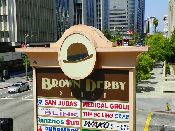 "The Korean Mall is named the ""Brown Derby Plaza"""