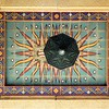 Ceiling art above the Wilshire entrance