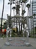 "Welcome to Hollywood! Who are these four, almost identical, stainless steel women? Some see a similarity with the Erechtheion at the Acropolis - <a href=""http://www.my-favourite-planet.de/english/europe/greece/attica/athens/acropolis/acropolis-photos-01-024.html"">http://www.my-favourite-planet.de/english/europe/greece/attica/athens/acropolis/acropolis-photos-01-024.html</a>"
