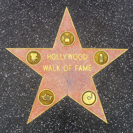 The Walk of Fame officially starts here