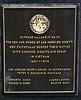 Vietnam veterans plaque