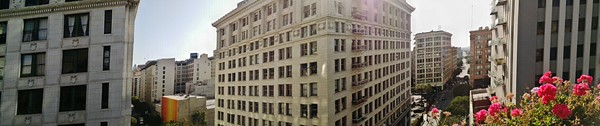 Panoramic from the roof