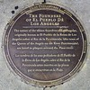 There are 11 plaques for the 11 founders of the original Los Angeles. I have 8 of them here.