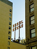"The ""Jesus Saves"" sign, as seen from Broadway, is left over from the days of Gene Scott"
