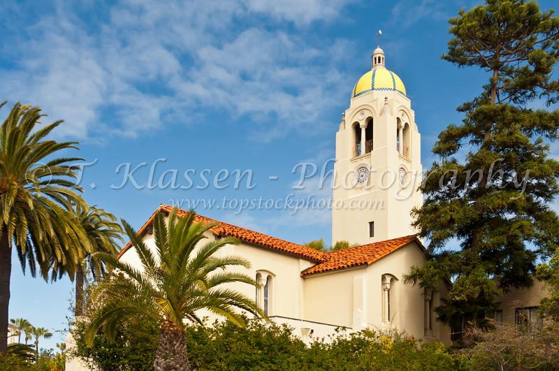 The Bishop's School buildings in La Jolla, California, USA.