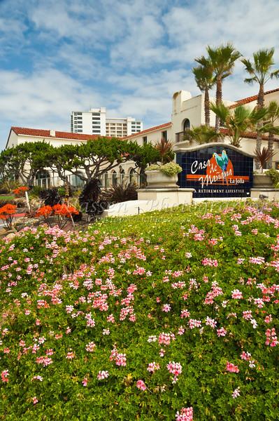 The Casa de Manana retirement Center in La Jolla, California, USA.
