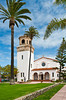 The St. James by the Sea, Episcopal church in La Jolla, California, USA.