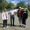 Diane (CAgal), Jim (WtMtJim), Greg & Ann Janke