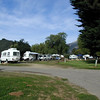 Little white plastic trailers were everywhere