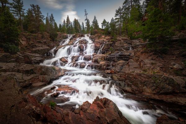 Lower Glen Alpine Falls
