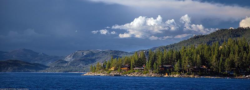 Lake Tahoe aboard Safari Rose