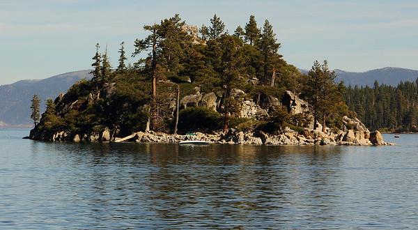 Island in Emerald Eay
