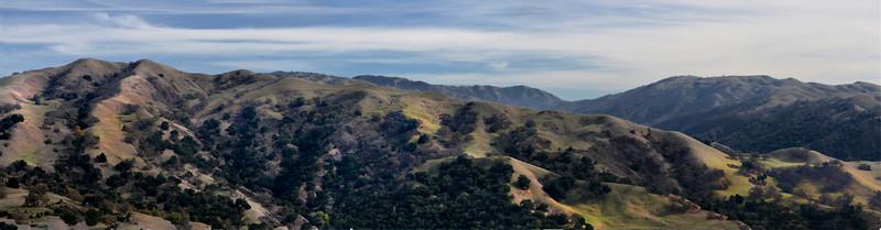 EBRP - Sunol Regional Wilderness from Flag Hill Trail  2