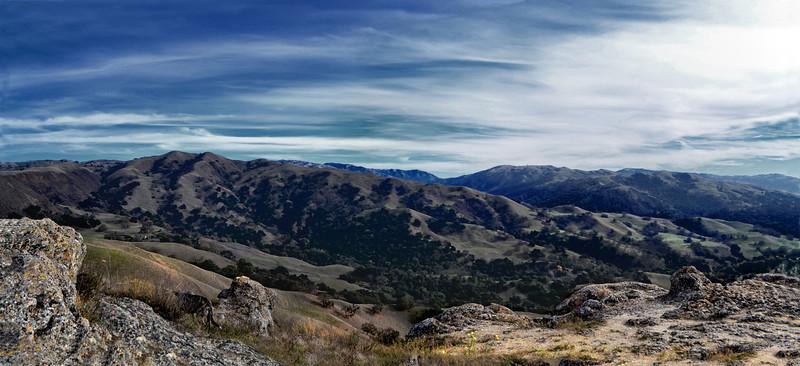 EBRP - Sunol Regional Wilderness from Flag Hill Trail