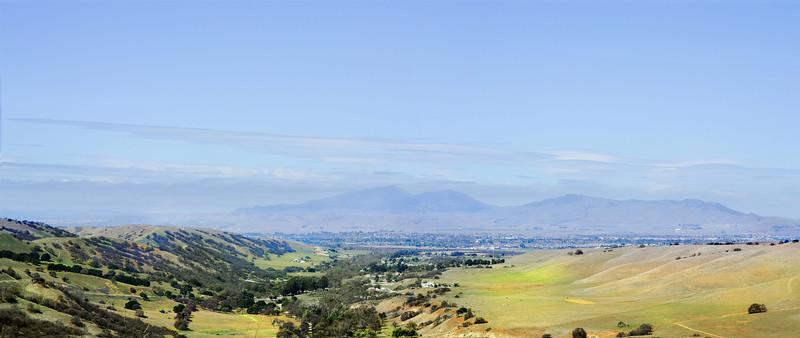 Mount Diablo on the Horizon