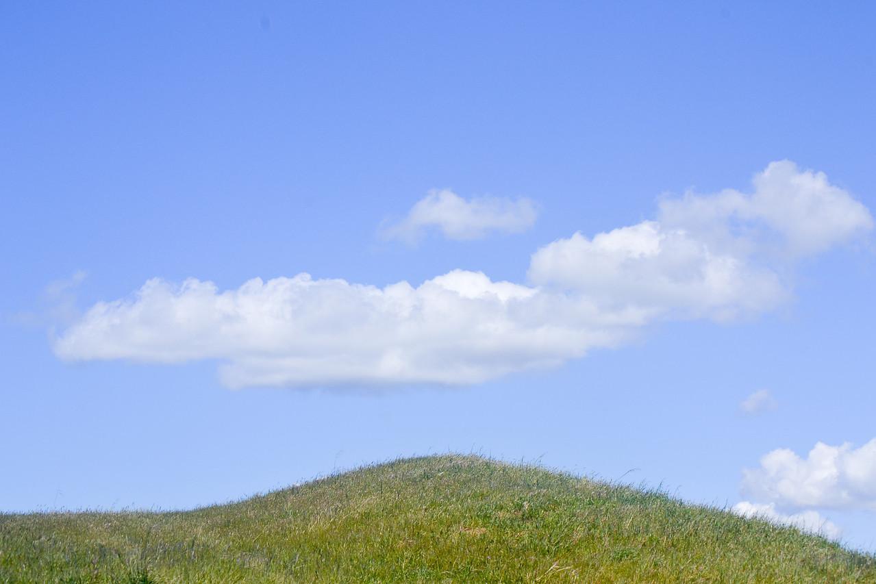 Cloud Cover -17 Mile Hike Pleasanton Ridge, Pleasanton, CA.