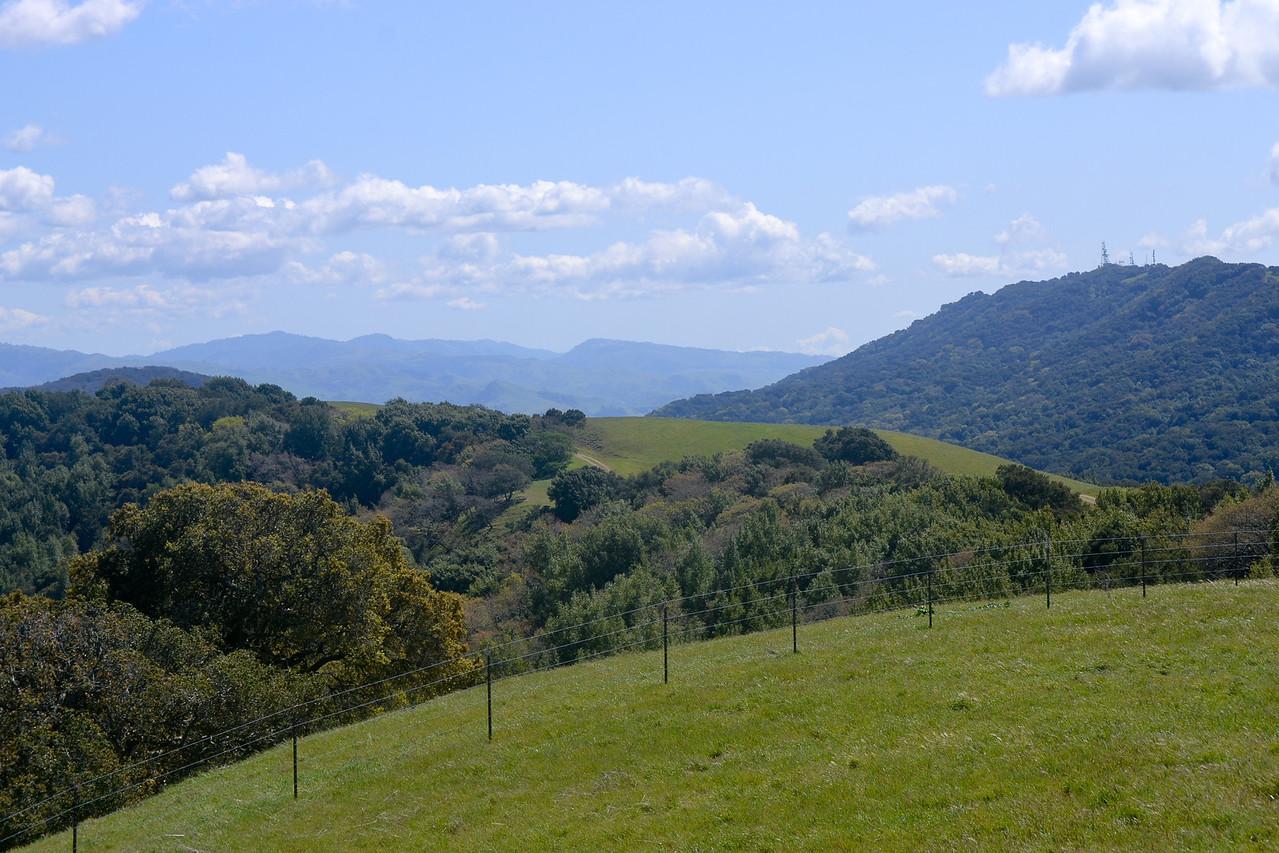Looking towards Sunol -17 Mile Hike Pleasanton Ridge, Pleasanton, CA.