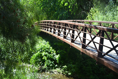 Bike Path, Bridge over Arroyo Mocho Cree,