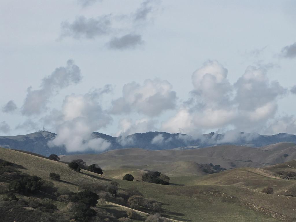 (EBRP) Clouds over the hills, Del Valle