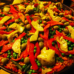Lodi California, Vegetarian Paella, St. Jorge Winery
