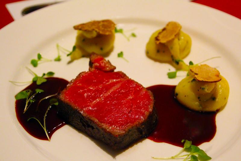 Lodi California, Wine & Roses Resort & Spa, Dinner Plate