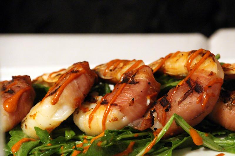 Lodi California, Rosewood Bar & Grill, Grilled Shrimp