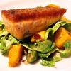 Lodi California, Rosewood Bar & Grill, Seared Salmon