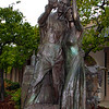 Lodi California, Celebrate the Harvest Wine Couple Statue