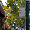 Lodi California, Downtown Sidewalk